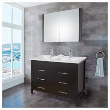 50 double sink vanity. 40 inch modern bathroom vanity set in black tn l1000 bk section 50 double sink
