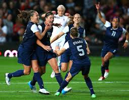 the american women s soccer team celebrating after abby wambach 14 scored on a penalty kick credit doug mills the new york times