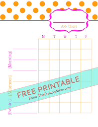 free printable charts and checklists. Free Printable Chore Charts (for Kids And Adults) Checklists