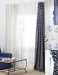 Navy And White Curtains Dark Navy Blue Curtains Home Design Ideas