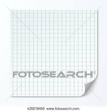 Clipart Of Cell Page Sheet Sheet Of Graph Paper Grid Texture