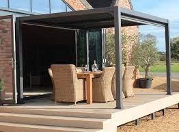 contemporary garden gazebo with