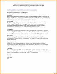 Cover Letter Template Wikihow Recommendation Letter Styles