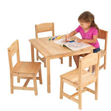 wood table and chair set for toddlers children s craft table and chairs kids furniture round kids