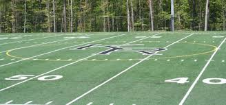 College Logo Stencil For Grass Painting Home Lawn Yard Turf KitFootball Field In Backyard