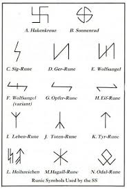 What Is The Meaning Of The Apparently Runic Symbol Carved On