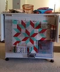 15 best Quilt Ruler Storage images on Pinterest | Storage, Craft ... & Pegboard Ruler Storage Adamdwight.com