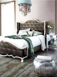 hollywood glam bed glam bedding glam bedroom ideas with brown bed and white bedding and silver