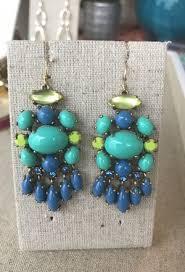 stella and dot aviva chandelier earrings retired for in plano tx