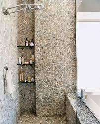 pebble and river rocks tiles