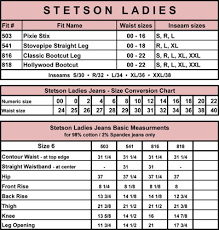 Vanity Jeans Size Chart Beautiful Us Standard Clothing Sizes