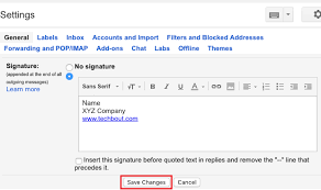 How To Add Signature In Gmail Messages