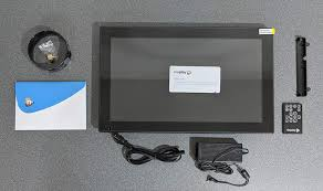 nixplay wifi cloud frame in stand ir remote ac adapter quick start guide