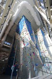 climbing walls for colleges and
