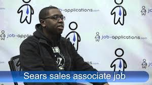 sears s representative job description salary