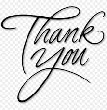 Thank You Cursive Font Thank You Thank You In Cursive Writi Png Image With