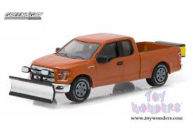 Greenlight - 2015 Ford F-150 with Snow Plow and Salt Spreader Pick ...