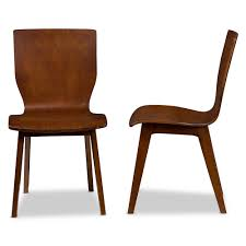 Mid Century Modern Wooden Dining Chairs