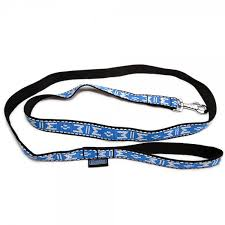 ft flat lead for dog walking 6ft dog lead reflective blue