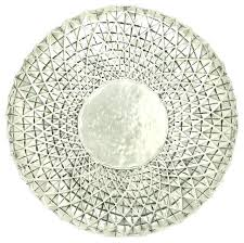 silver wall art metal silver wall art metal exclusive metal wall round shape decor off white silver wall art metal