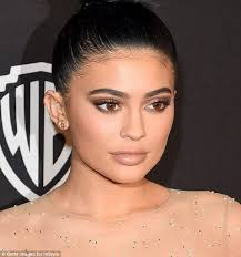 sparking a trend kylie jenner pictured in january had beauty around the