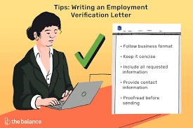 Letter Employment Verification Employment Verification Letter Sample And Templates