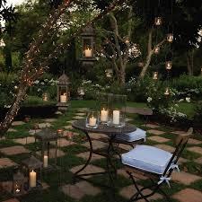 garden lighting ideas. alice in wonderland backyard garden lighting ideas
