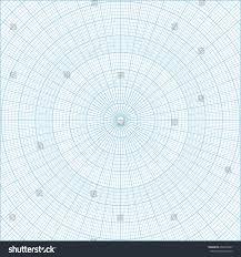 Free Printable Polar Coordinate Graph Paper Drawing