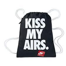 Nike Men's Heritage <b>Graphic Gymsack</b>, Black White, One Size ...