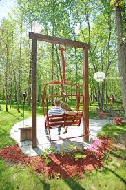ski lift chairs in yards