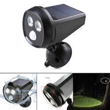 360 Rotating Spot Light Lamp Us 18 7 41 Off Waterproof Led Solar Night Light Wireless Spotlight Outdoor Lamp 360 Degree Rotation Landscape Light Home Garden Emergency Lamp In