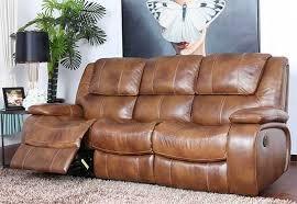 naples italian leather recliner 3s