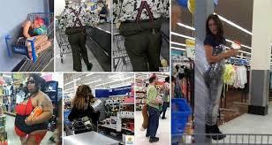 normal walmart shoppers. Plain Shoppers In Normal Walmart Shoppers