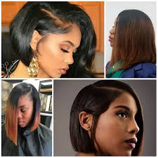 2017 Long and Short Bob Hairstyles for Black Women \u2013 Haircuts and ...