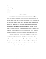 Personal Narrative College Essay Examples Essay Examples For College Sample High School Admission