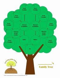 9 Generation Family Tree Template