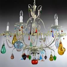 colored glass chandelier glass chandelier colored glass chandelier prisms