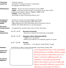How To Write A Resume Singapore