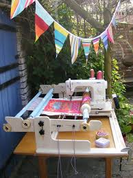 19 best Quilting frames images on Pinterest | Quilting frames ... & machinequilter - 4 foot Art Quilter - side view and the JUKI - a quilting  system made in the UK - ships everywhere Adamdwight.com