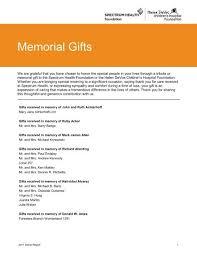 memorial gifts spectrum health foundation