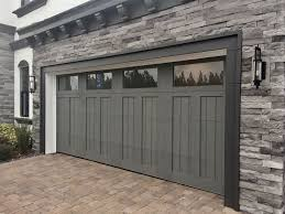 rustic wood garage doors 8 best new clopay garage doors at the 2018 international builders