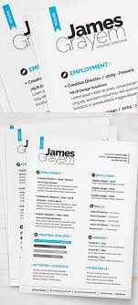 25 Free Elegant Modern Cv Resume Templates Psd Freebies