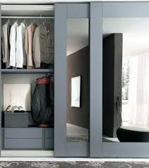 solid wood sliding wardrobe doors modern bedroom decor with gray mirror sliding wardrobe door solid maple