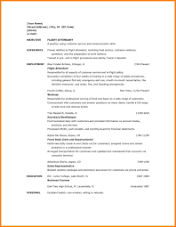 Best Resume Samples Flight Attendant Resume Sample With No Experience Best Ideas Of 44
