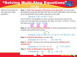equations solver with steps jennarocca solving equations one step equations