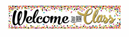 Image result for welcome to our class clip art