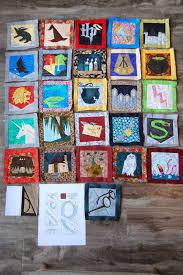 Tutorial: paper piecing Harry Potter quilt. Free patterns from ... & Tutorial: paper piecing Harry Potter quilt. Free patterns from Fandom in  Stitches (personal Adamdwight.com