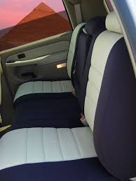 chevrolet suburban standard color seat covers rear seats