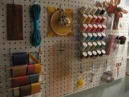 creative ideas home. Store Crafting Supplies On A Pegboard - Top 58 Most Creative Home-Organizing Ideas Home O