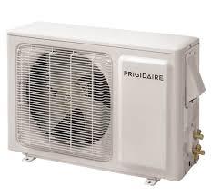frigidaire ductless split air conditioner heat pump 12 000 frigidaire ductless split air conditioner heat pump 12 000 btu 115v white frs12pys1
